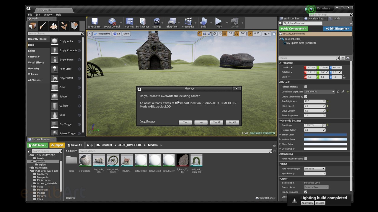 Tuto du Jeudi : Unreal Engine 4 Level of detail avec Maya