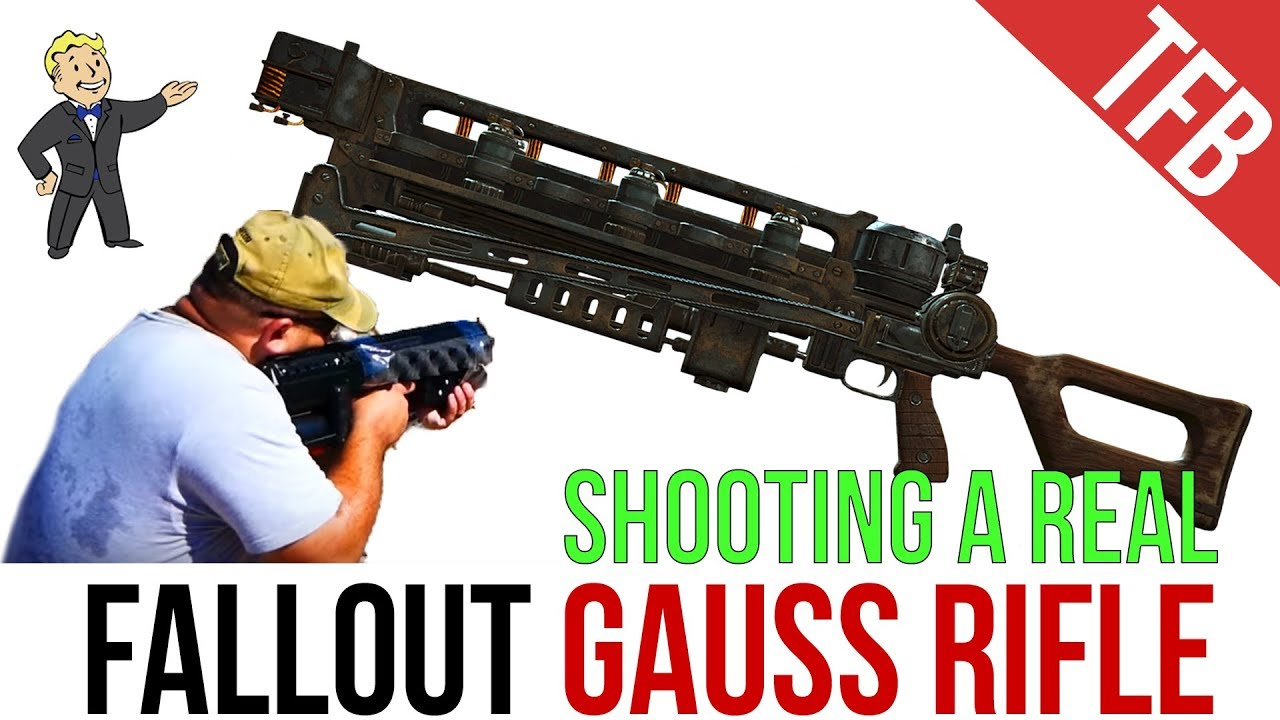 Real Guns of Fallout: Gauss Rifle