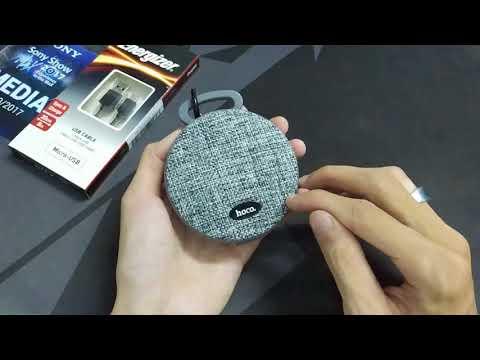 Trên tay loa di động Hoco BS7 - Thiết kế đẹp, gọn, chất âm tốt, có đàm thoại
