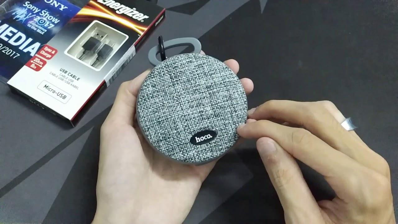 Trên tay loa di động Hoco BS7 – Thiết kế đẹp, gọn, chất âm tốt, có đàm thoại