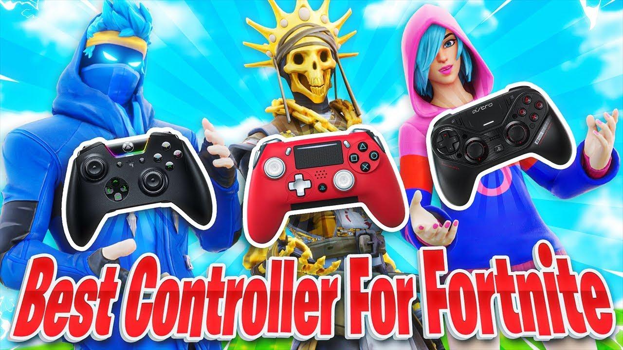 Comparando os MELHORES controles do Xbox PS4 para Fortnite! (Controlador Fortnite PS4 Xbox) + vídeo