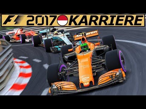 Das Monaco-Wunder? (R) – F1 2017 KARRIERE Gameplay German #19   Lets Play Formel 1 2017 Deutsch 4K