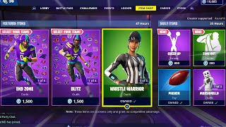 AIR HORN | DISCO DIVA | NFL SKINS | DENIED; Item Shop in FORTNITE #February4th