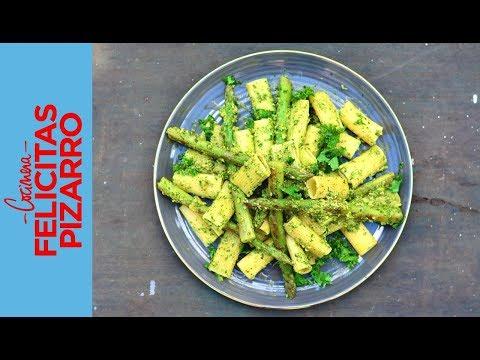 Pasta con Esparragos | Felicitas Pizarro