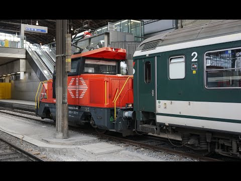 Railfanning Basel Switzerland Main Station