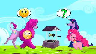 MLP -My Little Pony Animation Rainbow Rock Girls