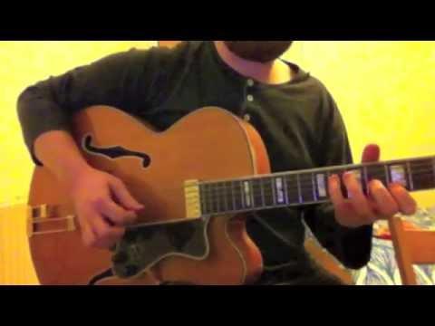 'Blue Drag'  Django Reinhardt / Allen Toussaint - Marc Ribot guitar solo transcription