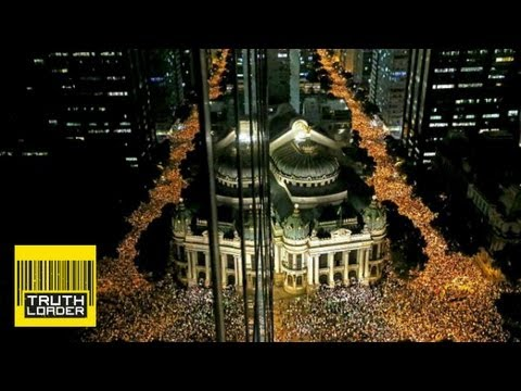 Brazil protests against World Cup and Olympics spending - Truthloader