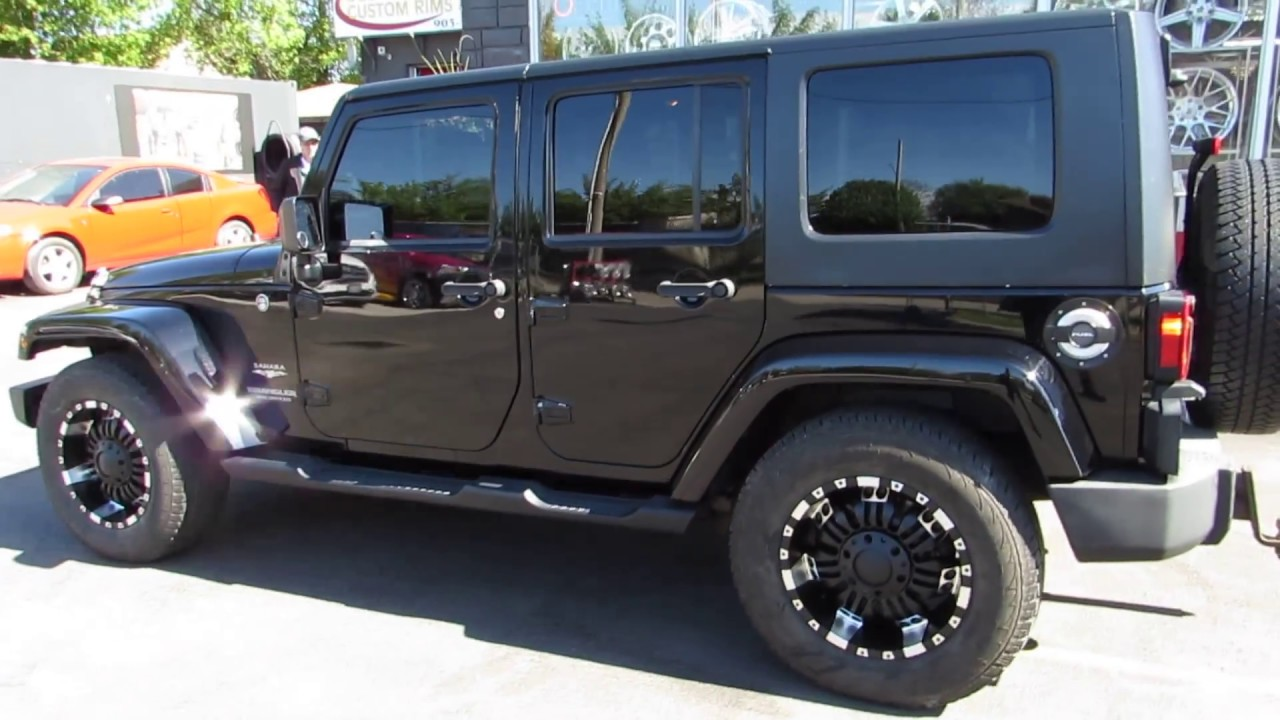 Tires For Jeep Wrangler >> 2012 Jeep Wrangler 18 Inch Off Road Rims Tires