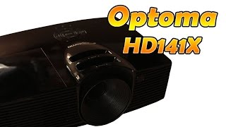 Optoma HD141X DLP-Projektor (Beamer) | Full 3D - Full HD | HD 1080p Deutsch