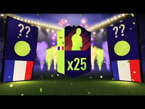 25 x 2 PLAYER PACKS!!! HOLY SH*T!!! FIFA 18 ULTIMATE TEAM