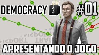 Democracy 3 - Gameplay - Apresentando O Jogo - Detonado Em Português - PT-BR #01