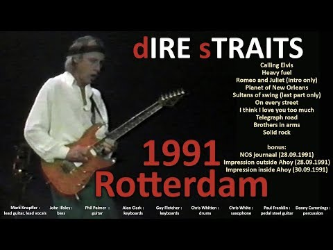 [50 fps] Dire Straits LIVE in Rotterdam 30-SEP-1991