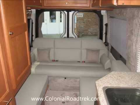 2013 roadtrek rs-adventurous lounge mercedes benz sprinter van motorhome  conversion - youtube  youtube
