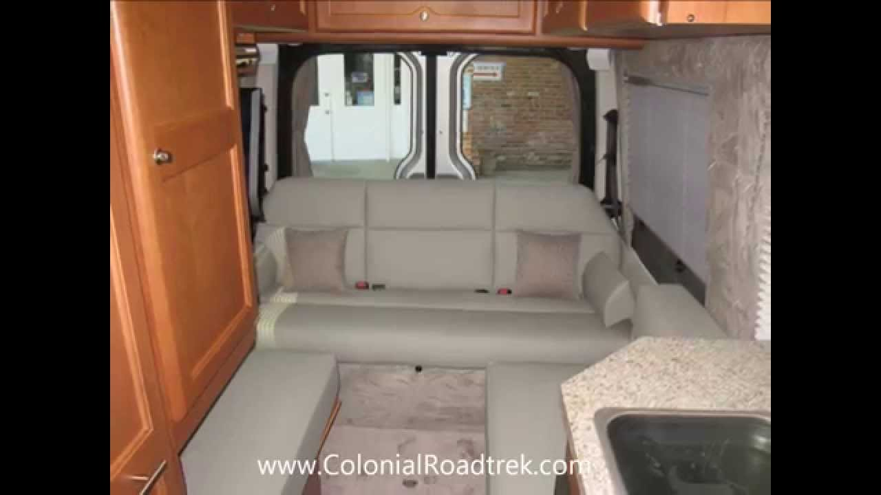 2013 Roadtrek RS Adventurous Lounge Mercedes Benz Sprinter Van Motorhome Conversion