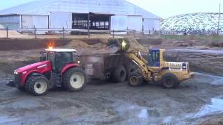 Hauling Cow Manure in Northern Indiana