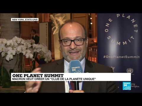 """One Planet Summit : """"la finance privée au chevet de la planète"""""""