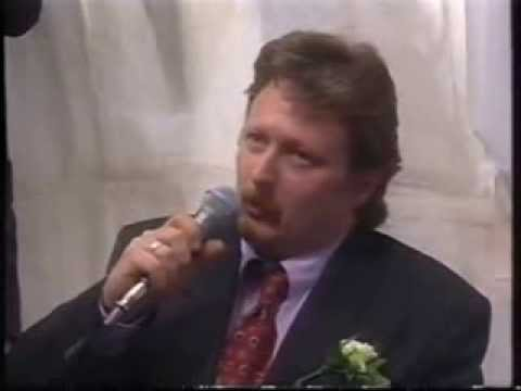 Coronation Street - Jim McDonald Scenes At Des And Natalies Wedding 1998