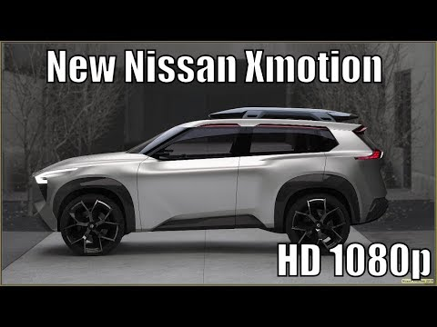 Nissan Xmotion 2019 Concept : Is This the Next Xterra?
