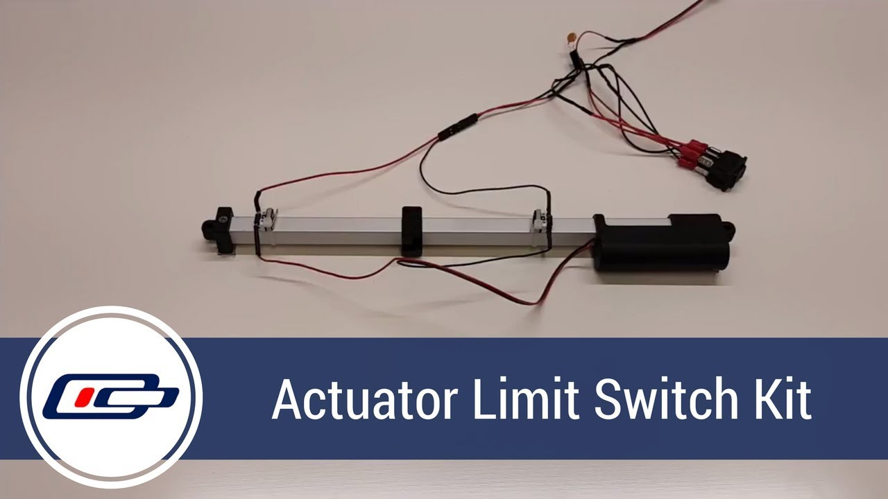 Actuonix Limit Switch Kit Product Overview