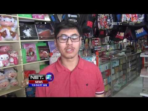 Laris Manis Toko Perlengkapan Sekolah Jelang Ajaran Baru - NET12