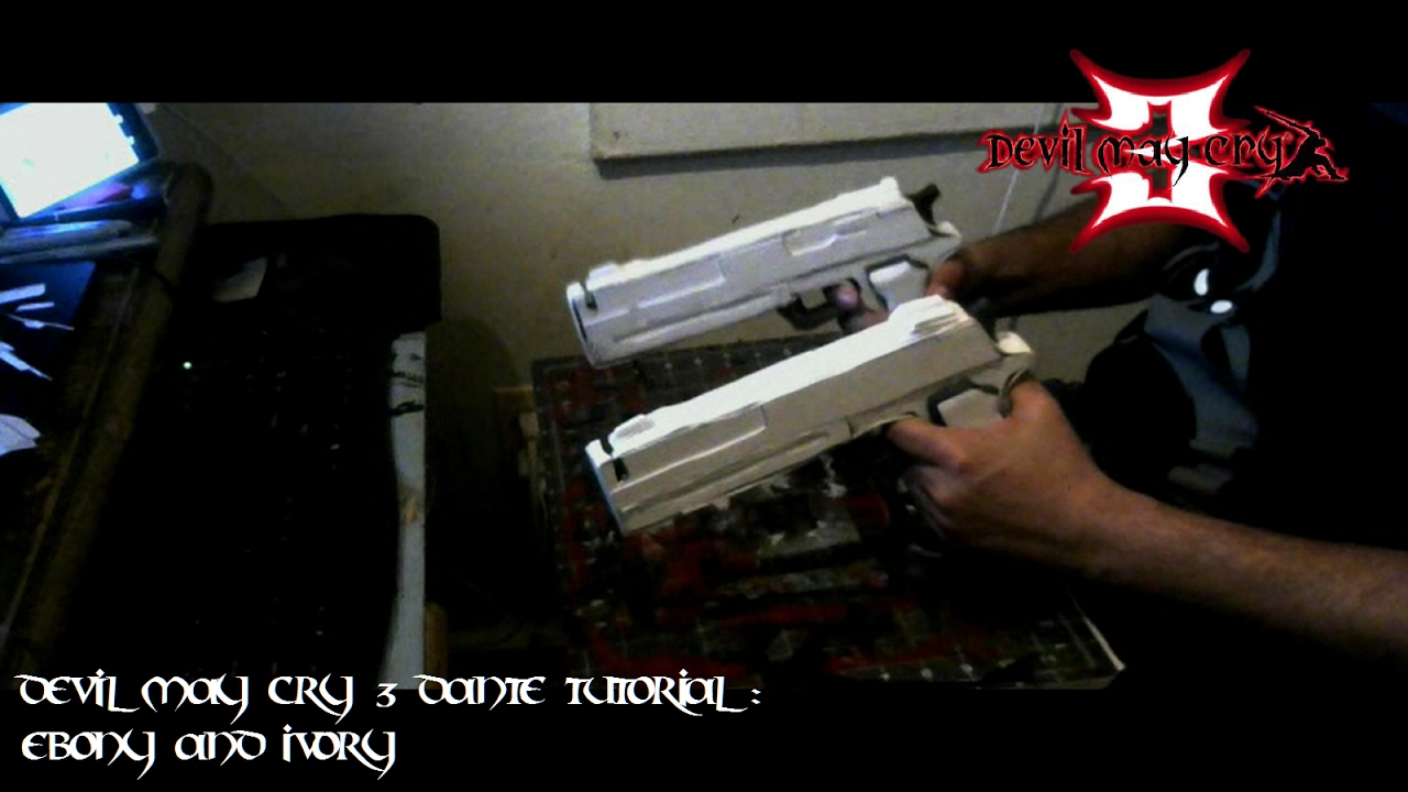 Devil May Cry Ebony And Ivory Replica