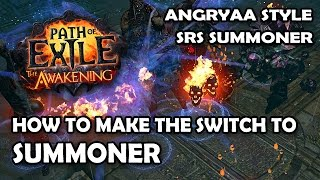 Path of Exile: How I Made the Switch to Summon Raging Spirits Summoner - AngryAA Style SRS