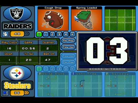 Backyard Football 2004 backyard football 2004, steelers vs. raiders - youtube
