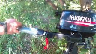 Удлинитель румпеля для лодочного мотора  HANGKAI 4, своими руками за 40 рублей