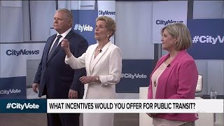 Ontario leaders tackle questions about drugs and transit: #CityVote, The Debate, Part 4