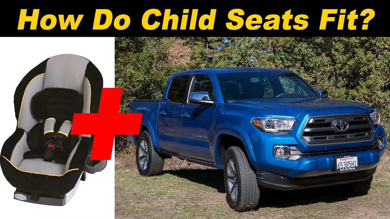 Toyota Tacoma Owners Manual: Child restraint systems