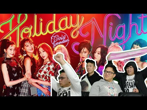 """An """"ALL NIGHT"""" """"HOLIDAY"""" with GIRLS' GENERATION (MV Reactions) #GIRLS6ENERAT10N"""