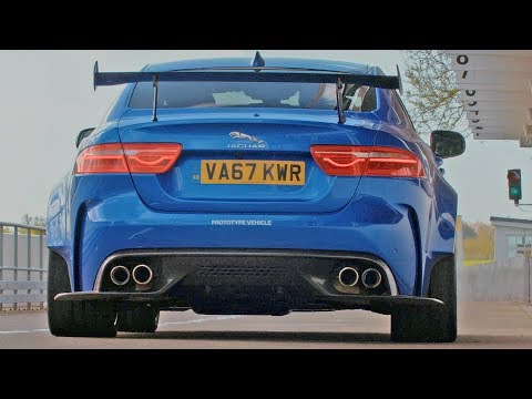 600HP Jaguar XE SV Project 8 (2018) BMW M3 killer