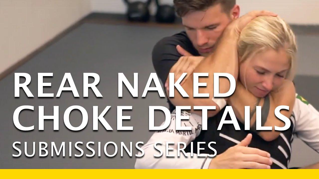 Rear naked choke defence. - YouTube