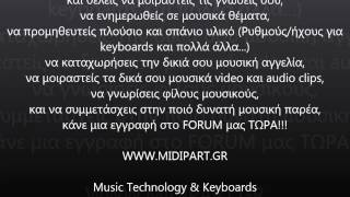 MIDIPART.GR - Music Technology & Keyboards Community