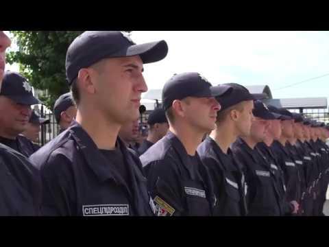 Поліція Луганщини: 24.08.2019_Новобранці батальйону «Луганськ-1» присягнули на вірність українському народові