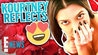 Topless Kourtney Kardashian Reflects on Travis Engagement | E! News