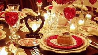 Как украсить СТОЛ  День СВЯТОГО ВАЛЕНТИНА Идеи Домашнего Декора Valentine's Day