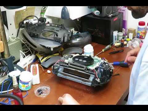 Samsung Navibot SR8845 - Free Wheel Issue Repair