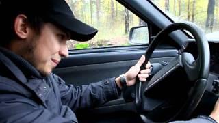 Костямба впервые за рулем 02.10.2011