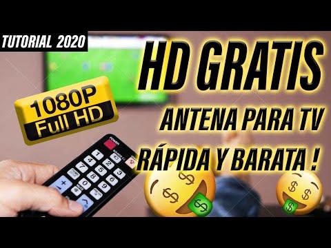 ✔ Cómo hacer ANTENA CASERA HD TV Digital 2017 | Tutorial