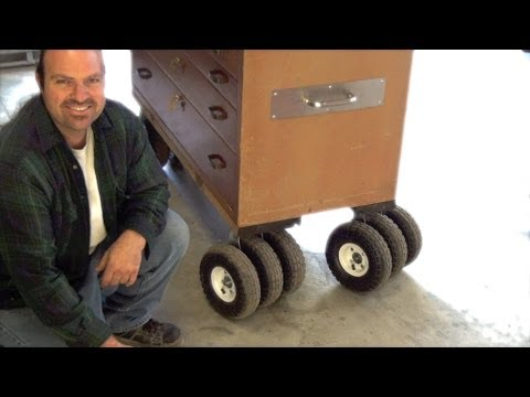 DIY How To Make Triple Threat Casters  Pneumatic 10