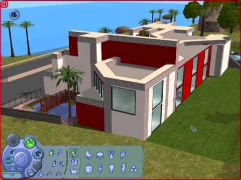 Majestuoso edificio en los sims 2 youtube for Sims 2 mansiones y jardines