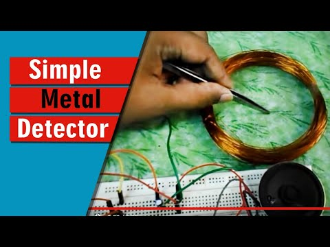 simple circuit diagram with ammeter and voltmeter circuit diagram simple simple metal detector using 555 timer ic youtube