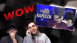 GUYS REACT TO BTS 'Why RM/Namjoon Shines Bright As The Leader'
