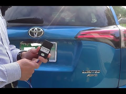 Installation of Kick-Activated (Hands-free) Tailgate Opener