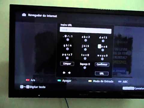 COMO ACESSAR O PAGINA DO GOOGLE COM A SMART TV SONY BRAVIA