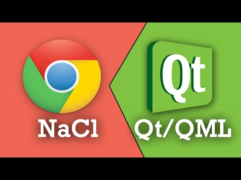 Compile Qt/Qml with Chrome Native Client (NaCl) + Example
