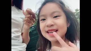 Lần đầu ăn thử Mận Đào cùng gia đình Lý Hải Minh Hà