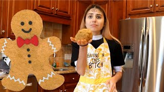 Baking in This B*tch Episode 6: Christmas Gingerbread Cookies